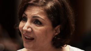 Najwa Barakat (photo: Getty Images/AFP/M. Al-Shaikh)