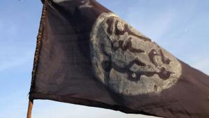 The Boko Haram flag (photo: S. Yas/AFP/Getty Images)