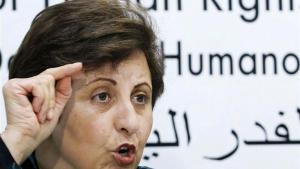 Dr Shirin Ebadi (photo: Reuters)