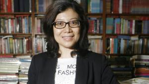 Indonesian author Linda Christanty (photo: Muhammad Ali)