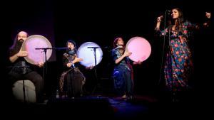 "Musicians performing at the 10th ""Tamburi Mundi"" music festival (photo: Ellen Schmauss)"