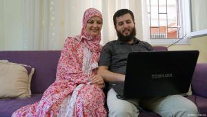 Leila and Mustafa (photo: DW/Louise Osborne)