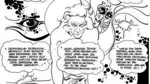 ″Mahabharata″ by Teguh Santosa (photo: insideindonesia.org)