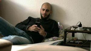 The Syrian refugee Alaa Houd (photo: DW/Claudia Dehn)