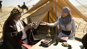 """Still from """"Queen of the Desert"""": Gertrude Bell (Nicole Kidman) recognises the soul of the Bedouin peoples and forges invaluable ties (photo: 2015 PROKINO Filmverleih GmbH)"""