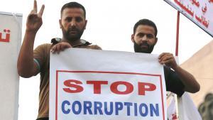 Shias protest in Baghdad against corruption and mismanagement (photo: Reuters/T. Al-Sudani)