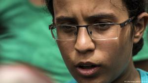 Egyptian student Mariam Malak (photo: Getty Images/AFP/K. Desouki)