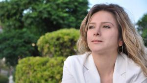 Syrian author Samar Yazbek (photo: Deutsche Welle/Manaf Azzam)