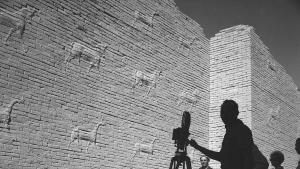 Latif Al Ani Tourism Promotion Film ca. 1962; B+W digital print on Hahnemühle Baryta Fine Art paper, 25 x 25 cm (courtesy of the artist and the Arab Image Foundation - AIF)