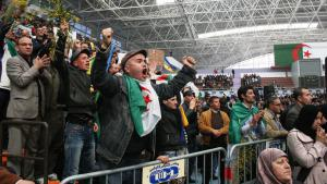 E-opposition rally in Algeria (photo: DW/Ben Chenouf Mahrez)
