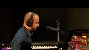 Bachar Mar-Khalife in session with France Culture (source: YouTube still)