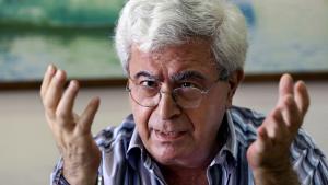 Lebanese author Elias Khoury (photo: picture-alliance/AP Photo/B. Hussein)