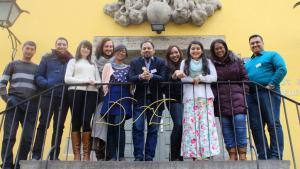CrossCulture interns at the Institut fur Auslandsbeziehungen (ifa) in Stuttgart (photo: Juliane Pfordte)