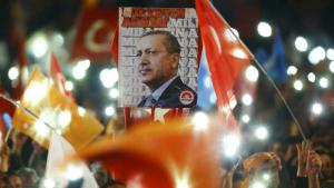Erdogan′s supporters in Ankara celebrate the AKP′s victory (photo: Reuters)