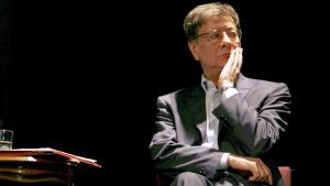 The Palestinian poet Mahmoud Darwish (photo: picture-alliance/dpa/G. Cohen Magen)