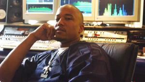 The rapper Deso Dogg at a recording session in 2004 (photo: imago/S. Lambert)