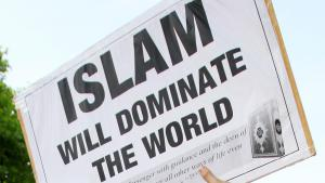 London protest on 6 May 2011 following the killing of Osama bin Laden (photo: picture-alliance/empics)