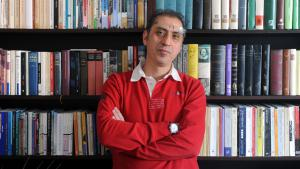 Bremen publisher Madjid Mohit (photo: picture-alliance/dpa/I. Wagner)