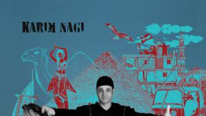"Album cover (cropped) of ""Detour Guide"" by Karim Nagi"