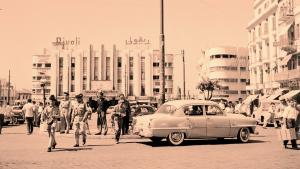 Martyrs Square, Beirut ca. 1958 (photo: Getty Images/Three Lions)