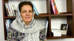 The Iranian author Fariba Vafi (photo: Maryam Aras)