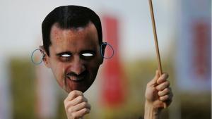 Demonstration against the Assad regime (photo: picture-alliance/dpa)