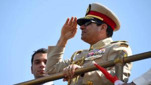Egypt′s president, Abdel Fattah al-Sisi, during the opening of the Suez Canal (photo: Reuters/The Egyptian Presidency)