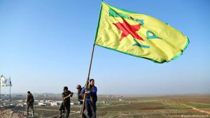 Kurds celebrate the re-taking of Kobani (photo: picture-alliance/dpa/str)
