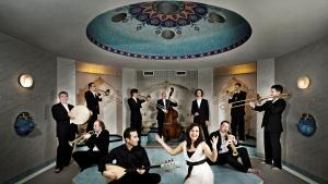 """The """"Anatolian Jazz Orchestra"""" (photo: Matthias Martin)"""
