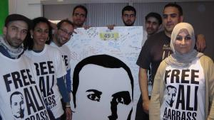 ″Free Ali Aarass″ campaign (source: www.freeali.eu)