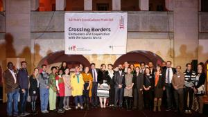 Group photo of CrossCulture programme scholars (photo: Fabian Pianka)