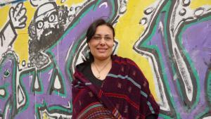 The Egyptian author Mansoura Ez-Eldin (photo: Arian Fariborz)