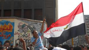 Demonstration on Mohamed Mahmoud Street on 12.10.2012 (photo: Sofian Philip Naceur)
