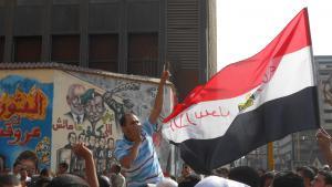 Demonstration on Mohamed Mahmoud Street on 12.10.2012 (photo: Sofian Philip Naceur)