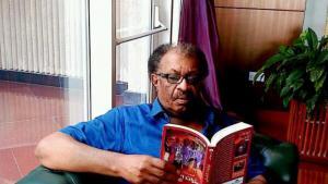 The Sudanese writer Amir Tag Elsir (source: Twitter)