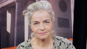 The journalist Charlotte Wiedemann (photo: Deutsche Welle)