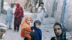 Afghan refugee children in Islamabad, Pakistan (photo: AP)