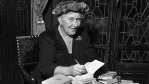 The English author of detective novels, Agatha Christie (1890 – 1976) (photo: Getty Images)