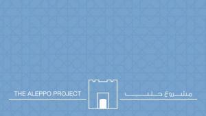 """""""The Aleppo Project"""" logo"""