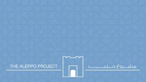 """The Aleppo Project"" logo"