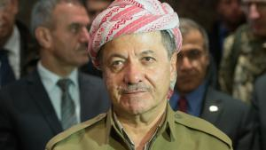 Massoud Barzani, president of the autonomous region of Kurdistan (photo: Maurizio Gambarini/dpa)