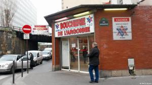 Boucherie de l'Argonne in Paris (photo: DW/Elizabeth Bryant)
