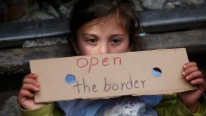 Refugee in Idomeni (photo: Reuters/S. Nenov)