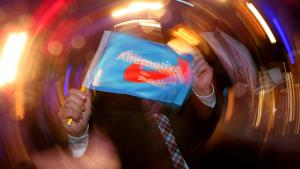 AfD election night party following the state election in Baden-Wurttemberg (photo: Getty Images/A. Hassenstein)