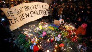 """Je suis Bruxelles"" - ""I am Brussels"": outpouring of grief and solidarity following the terrorist attacks in Brussels on 22 March 2016"