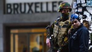 Belgian security forces following the Brussels attacks (photo: Getty Images/AFP/E. Dunand)