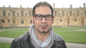 Iraqi author Ali Bader at The Sunday Times Oxford Literary Festival (photo: picture-alliance/Photoshot)