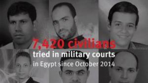 """Human Rights Watch"" logo - Egypt"