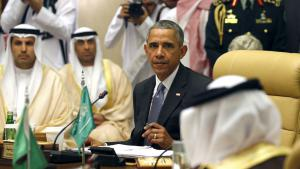 US President Barack Obama at the Gulf Co-operation Summit in Riyadh on 21.04.2016 (photo: Reuters/K. Lamarque)
