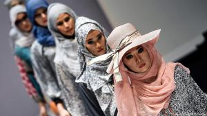 Muslim fashion show in Kuala Lumpur (photo: Getty Images/AFP/M. Vatsyayana)